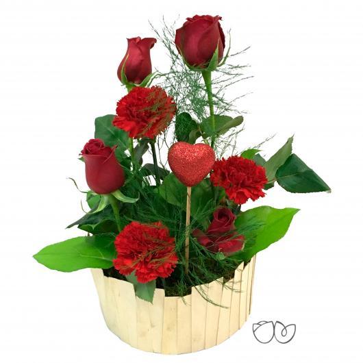 Ramo de flores Un beso más