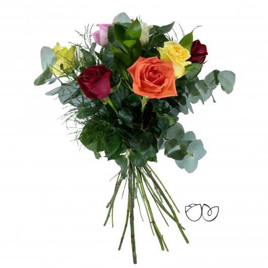 Ramo de flores Arcoiris