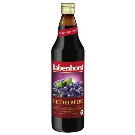 Jus de myrtille BIO Rabenhorst, 330 ml