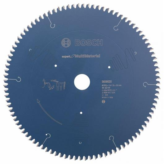 Disco de corte multimaterial Bosch 305 x 30 x 2.4 mm 96 dientes