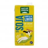 Bebida de Soja, Canela y Limón Naturgreen, 1 L
