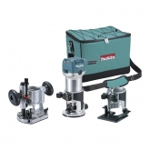 Fresadora multifunção Makita RT07000CX2 710 W 6 e 8 mm