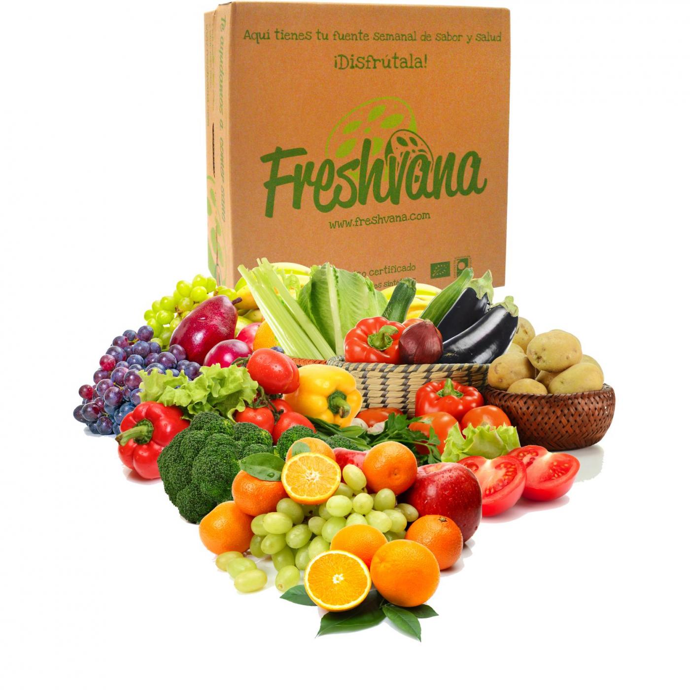 Caja de fruta y verdura ecol gica por 21 99 en planeta - Comprar cajas de fruta ...