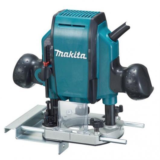 Fresadora de superficie Makita RP0900 900 W 6 y 8 mm