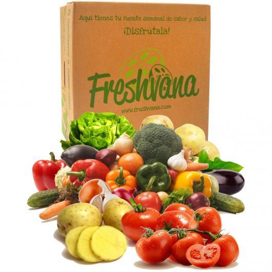Caja de verdura ecológica