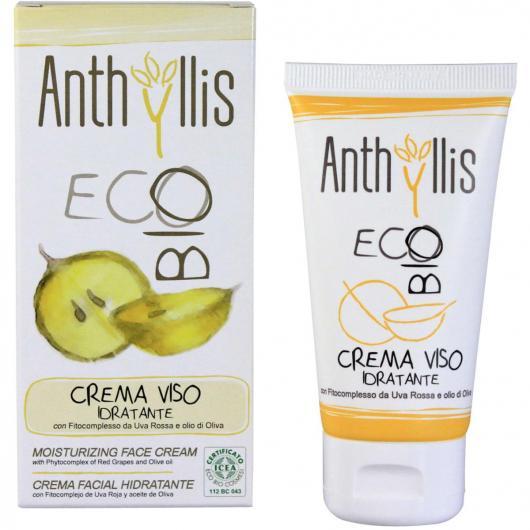 Crème Hydratante Visage tous types de peaux BIO, Anthyllis, 50 ml