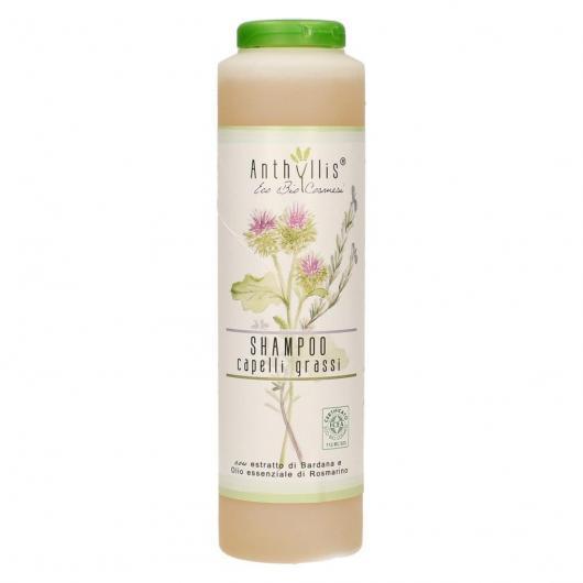 Shampoing BIO Cheveux Gras Bardane et Romarin, Anthyllis, 250 ml