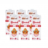 EcoMil organic sugar-free almond milk pack of 6ltr