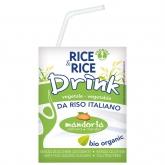 Bebida BIO de arroz y almendra Rice & Rice, 200 ml