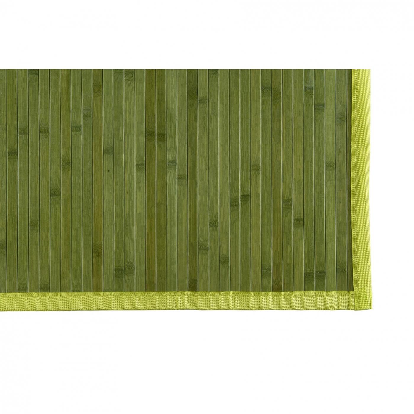 Alfombra bambu color verde por 27 14 en planeta huerto - Alfombras bambu colores ...