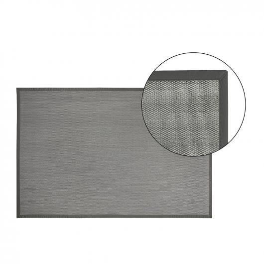 Alfombra de vinilo para interior y exterior color zinc