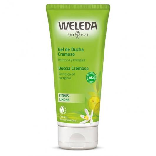 Gel douche en crème à base d'agrumes Weleda, 200 ml