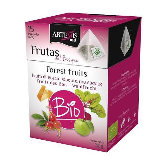 Frutas del Bosque pirámides Artemis, 15 uds