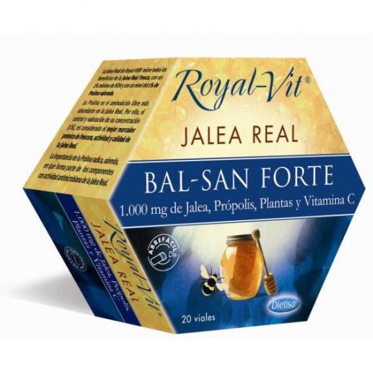 Jalea Real Royal Vit Bal-San Forte, 20 viales