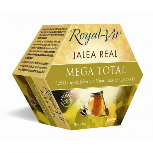 Jalea Real Royal Vit Mega Total, 20 viales