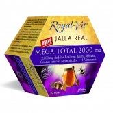 Pappa Reale Royal Vit Mega Total con reishi y shiitake, 20 fiale