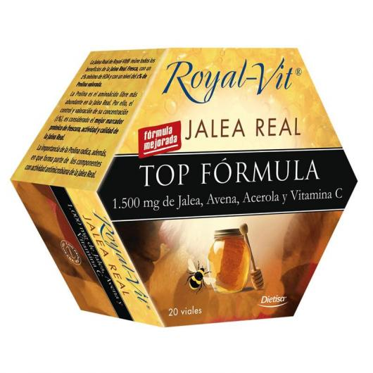 Gelée Royale Royal Vit Formule Top, 20 flacons