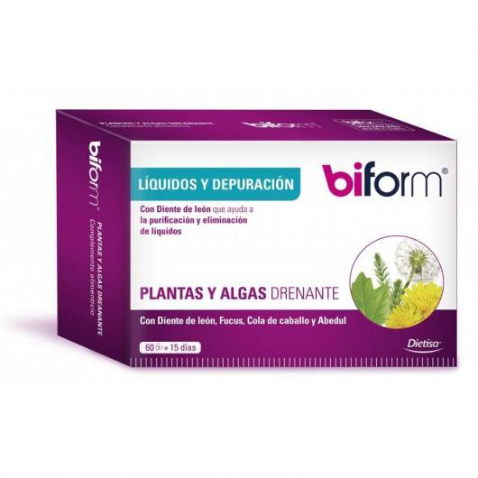 Plantes et algues drainantes Biform, 60 capsules