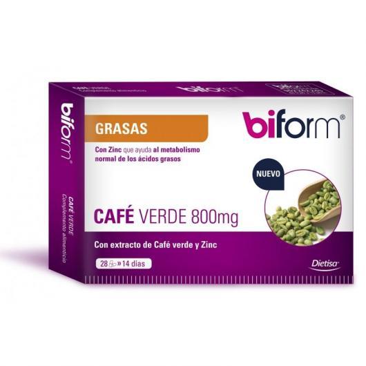 Café Verde 800 mg Biform, 28 cápsulas