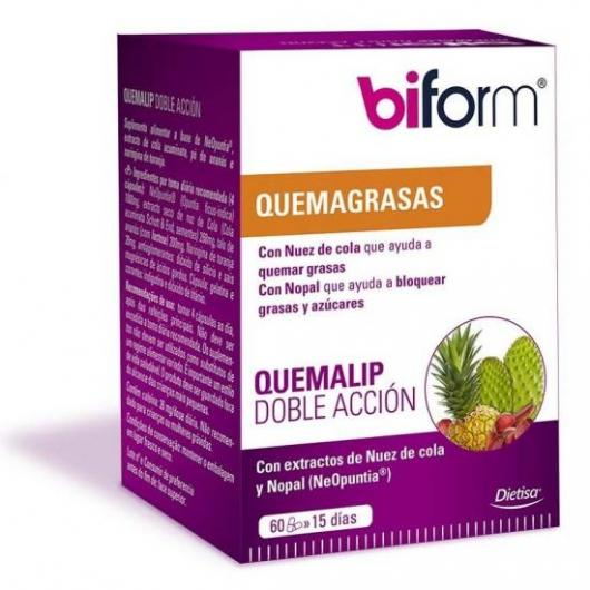 Brûlelip double action Biform, 60 capsules