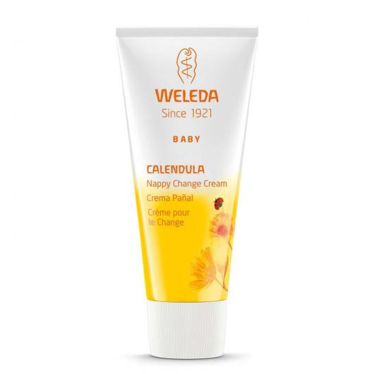 Crème à la calendula pour fesses de bébé Weleda, 75 ml