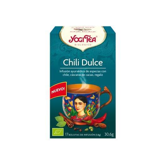 Yogi Tea BIO Chili Piment Piquant, 17 sachets