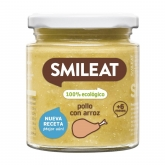 Smileat 6mths organic chicken with rice babyfood 230g