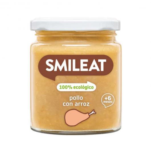 Potito BIO pollo con arroz + 6 meses Smileat, 230 g