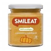 Omogeneizzato BIO zucca e zucchine + 4 mesi Smileat, 230 g