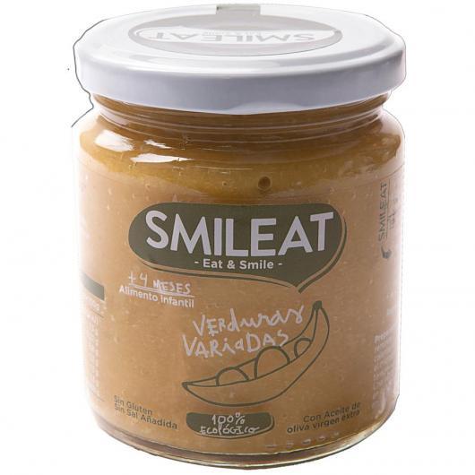 Omogeneizzato BIO verdure miste + 4 mesi Smileat, 230 g