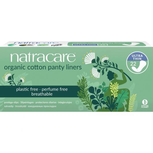 Protège-slips Ultra fin Coton Bio 100% Natracare 22 unités
