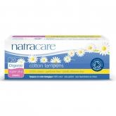 Tampón súper plus bio sin aplicador Natracare 20 uds
