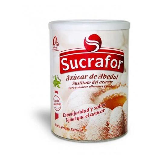 Sucrafor Sucre de Bouleau avec Stévia Organique, 750 g