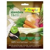 Tira de semillas Siembra Fácil hortalizas