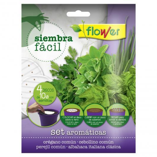 Discos de semillas Siembra Fácil aromáticas