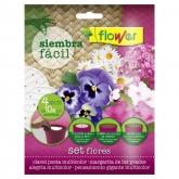 Discos de semillas Siembra Fácil flores