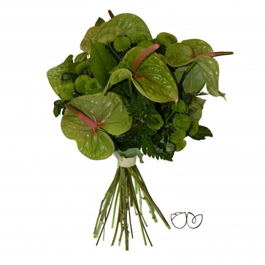 Ramo de Flores Verde que te quiero Verde