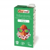 EcoMil organic sugar-free almond milk 200ml