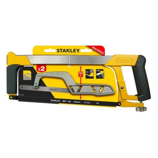 Pack de dos sierras para metal Stanley STHT0-20036