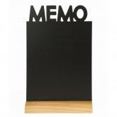 Ardoise de table Mémo
