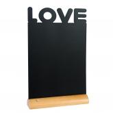 Ardoise de table Love