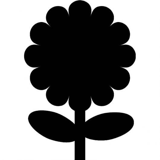 Pizarra de pared Flor