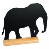 Ardoise de table éléphant
