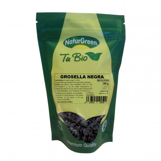 Groseille Noire Naturgreen 150 gr