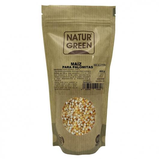 Mais per popcorn Naturgreen 400 gr