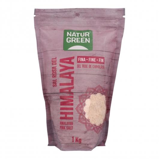 Sal rosa del Himalaya fina Naturgreen
