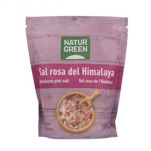 Sal rosa del Himalaya gruesa Naturgreen 500 gr