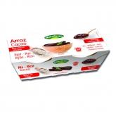 Dolce di Riso Cacao basso in zuccheri NaturGreen, 2 X 125 g