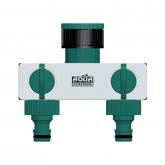 Adattatore rubinetto 2 uscite Aquacontrol
