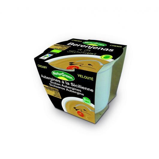 Mousse d'aubergine Sicilienne Naturgreen, 310 g
